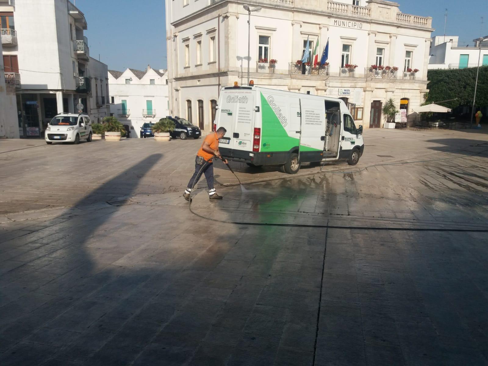 Alberobello: primo giorno di Servizio nella capitale dei Trulli