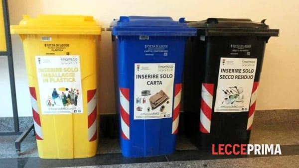 """La festa di Sant'Oronzo si tinge di """"verde"""": nove punti per la raccolta differenziata in città"""