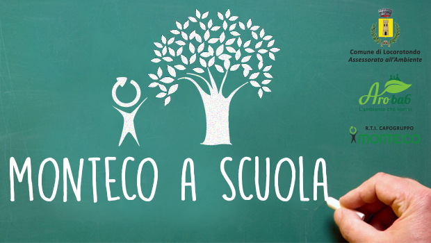 monteco a scuola: campagna di sensibilizzazione ambientale