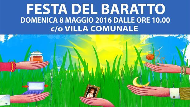 Oria: domenica 8 maggio III ed. della Festa del Baratto c/o la Villa Comunale