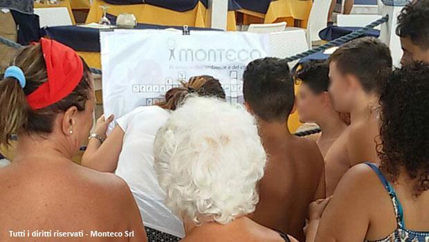 Leuca: Monteco al mare per sensibilizzare al rispetto dell'ambiente