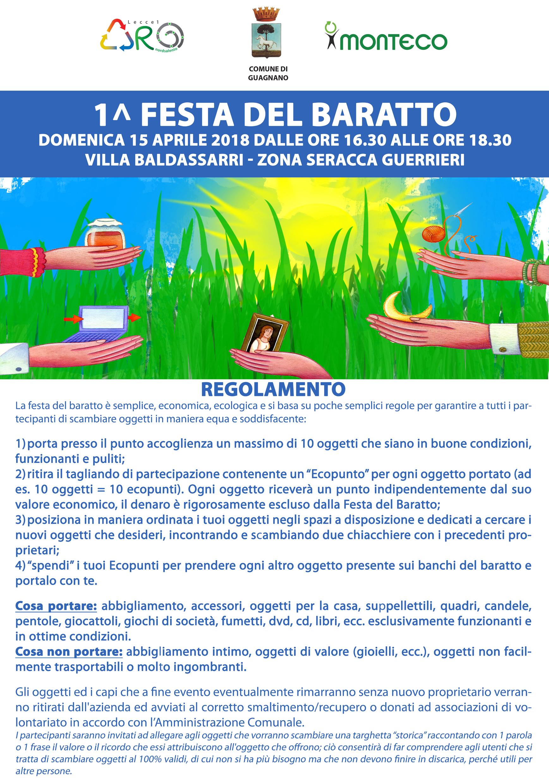Festa del baratto a Guagnano/Villa Baldassarri